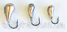 Мормышка двухсторонне паянная - уралка Самоделкина.