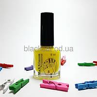 Лак-фарба для стемпинга жовта MaXXImum 8 мл