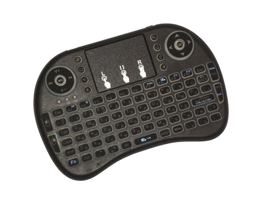 Мини клавиатура с подсветкой I8