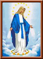 Схема для вышивки икона Дева Мария Непорочного Зачатия