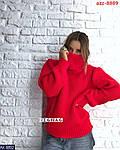 Об'ємний в'язаний светр, фото 3