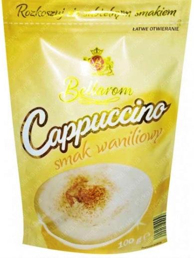 Капучино Bellarom со вкусом ванили 100 г