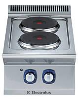 Плита электрическая, верхнего расположения, 2 зоны нагрева по 2,6 кВт
