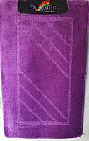 Набір килимків з ворсом для ванної,фиолетовый(Турция) 60х100 і туалета 60х40