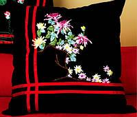 """""""Цветы на ветке""""  Набор для вышивания лентами"""