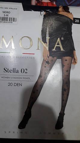 Фантазийные колготки MONA со звездами 20 den, фото 2