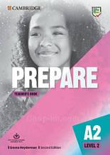 Prepare! Second Edition 2 Teacher's Book with Downloadable Resource Pack / Книга для учителя