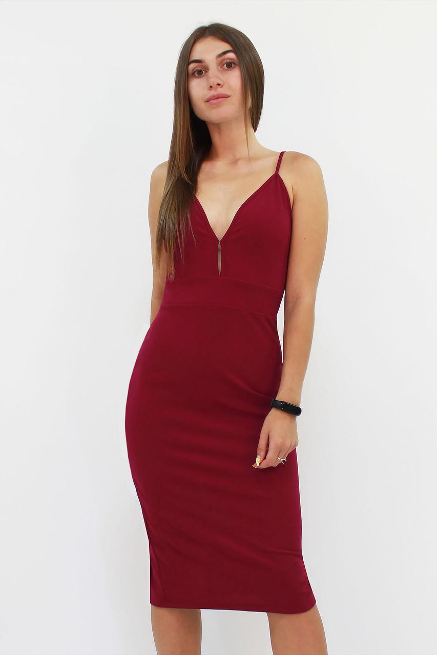 S, M, L / Вечірнє жіноче плаття Grasia, марсала