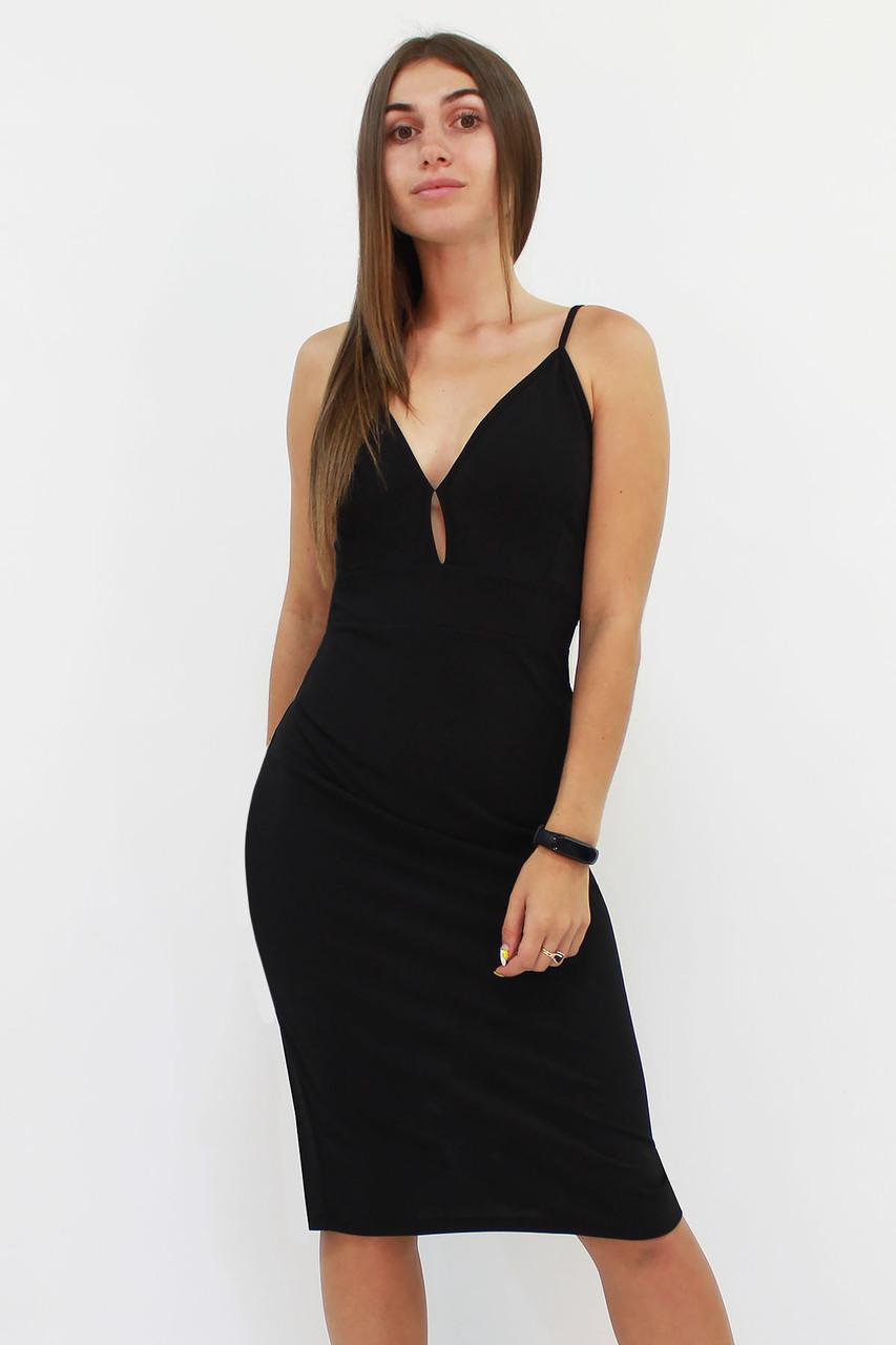 S, M, L | Вечірнє жіноче плаття Grasia, чорний