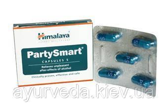 Средство от похмелья Пати Смарт, 5 таб, производитель Хималая; Party Smart, 5 tabs, Himalaya