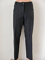 Классические женские теплые брюки, полная длина, р.46,52,56 код 2697М