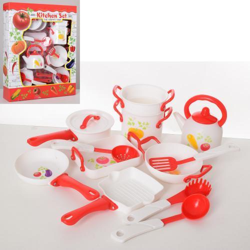 Набір кухонного посуду та приладдя LN1010A ігровий набір дитячий