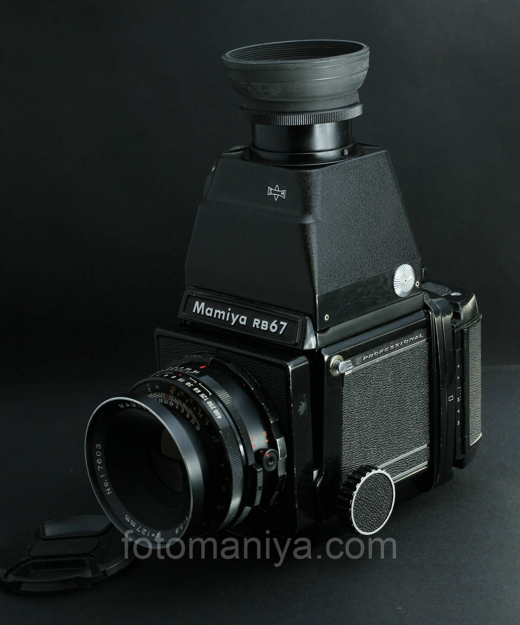 Mamiya RB67 kit Mamiya Sekor 127mm f3.8