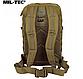 Рюкзак тактичний армійський ASSAULT об'єм 36 літрів колір койот MiL - TEC Німеччина, фото 3