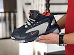 Мужские зимние ботинки Nike Zoom 2K (сине-серые), фото 5