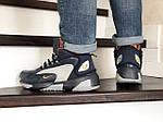 Мужские зимние ботинки Nike Zoom 2K (сине-серые), фото 3