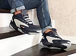 Мужские зимние ботинки Nike Zoom 2K (сине-серые), фото 4