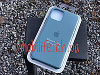 Silicon Case Original Apple iPhone 11 Pro/Green под цвет телефона/Высокое Качество/