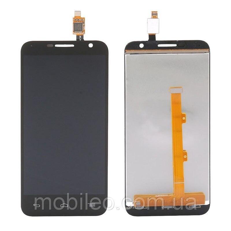 Дисплей (LCD) Alcatel 6016 One Touch Idol 2 mini   6016A   6016D   6016X с тачскрином, чёрный