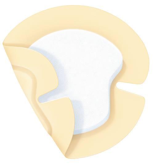 PermaFoam Concave 16,5х18см Губчатая повязка на область локтя и пятки