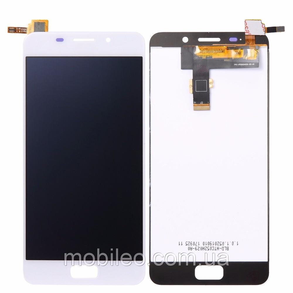 Дисплей (LCD) Asus ZenFone 3s Max | ZC521TL | Pegasus 3s | X00GD с тачскрином, белый