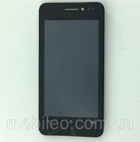 Дисплей (LCD) Asus ZenFone 4 (4.5) | A450CG с тачскрином и рамкой, чёрный