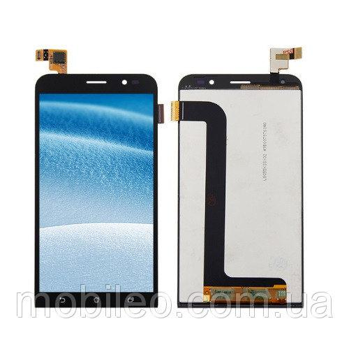 Дисплей (LCD) Asus ZenFone Go (2017) | ZB552KL з тачскріном, чорний