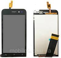 Дисплей (LCD) Asus ZenFone Go | ZB450KL | X009D с тачскрином, чёрный