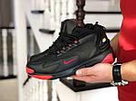 Мужские зимние ботинки Nike Zoom 2K (черно-красные), фото 3