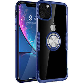 "TPU+PC чохол Deen CrystalRing під магнітний тримач для Apple iPhone 11 Pro (5.8"")"