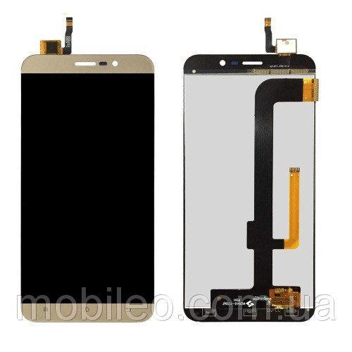 Дисплей (LCD) Cubot Note S с тачскрином, золотой