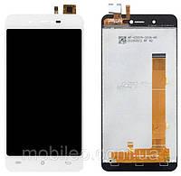 Дисплей (LCD) Cubot R9 с сенсором белый