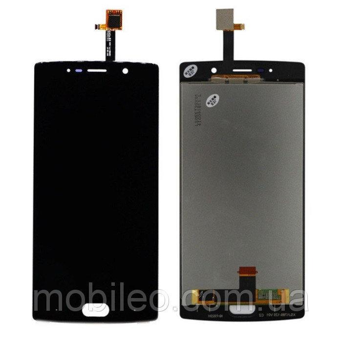 Дисплей (LCD) Doogee BL7000 с тачскрином, чёрный