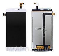 Дисплей (LCD) Doogee X30 с тачскрином, белый