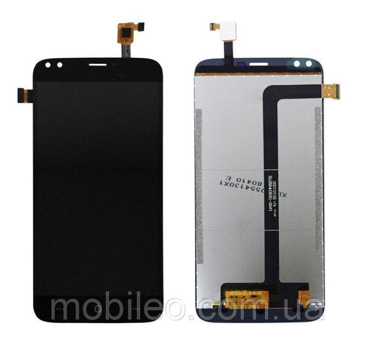 Дисплей (LCD) Doogee X30 с тачскрином, чёрный