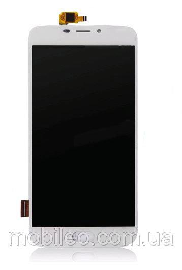 Дисплей (LCD) Doogee X9 | X9 Pro с тачскрином, белый