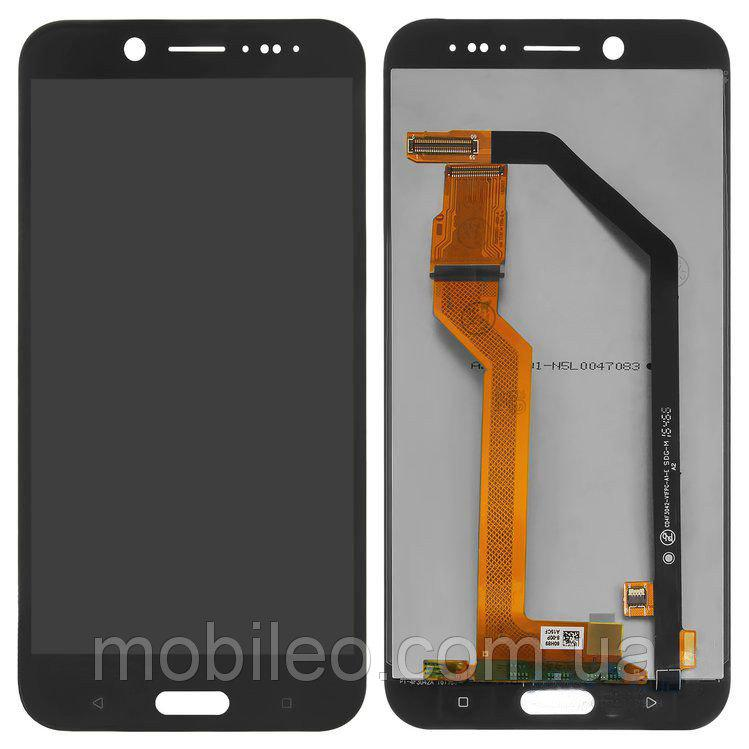 Дисплей (LCD) HTC 10 Evo з тачскріном, чорний