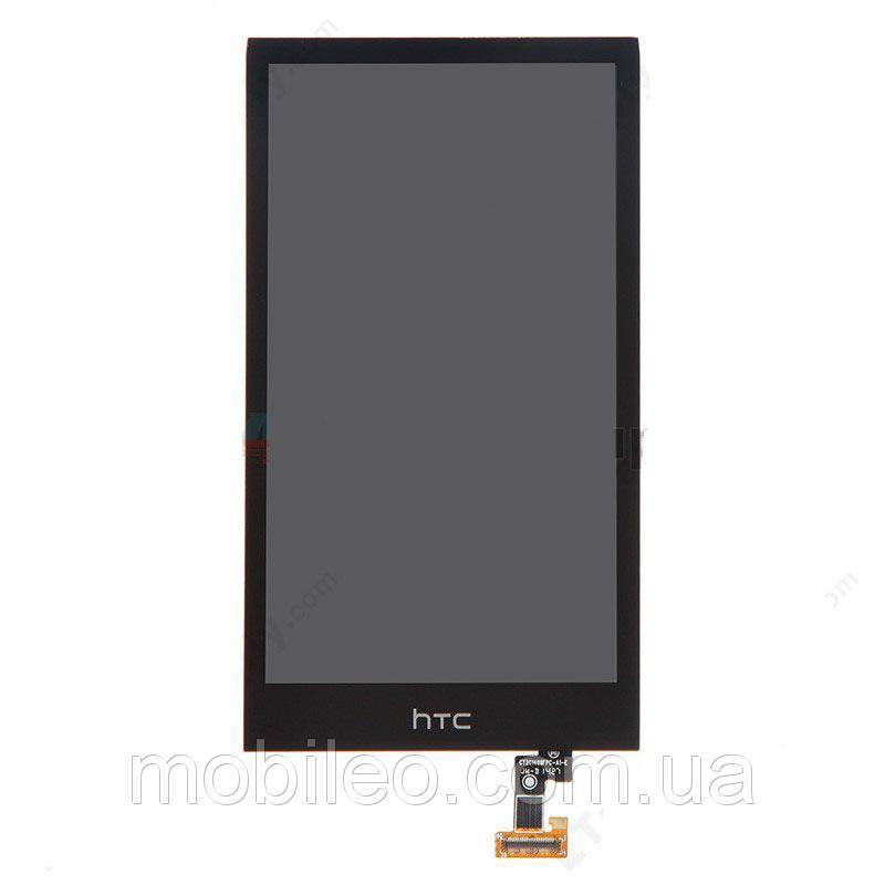 Дисплей (LCD) HTC Desire 510 с тачскрином, чёрный, оригинал (PRC)
