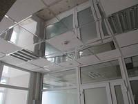 Зеркальный подвесной потолок в комплекте НЖ+профиль