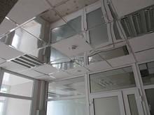 Дзеркальний підвісна стеля в комплекті НЖ+профіль