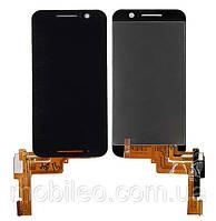 Дисплей (LCD) HTC One S9 с тачскрином, чёрный