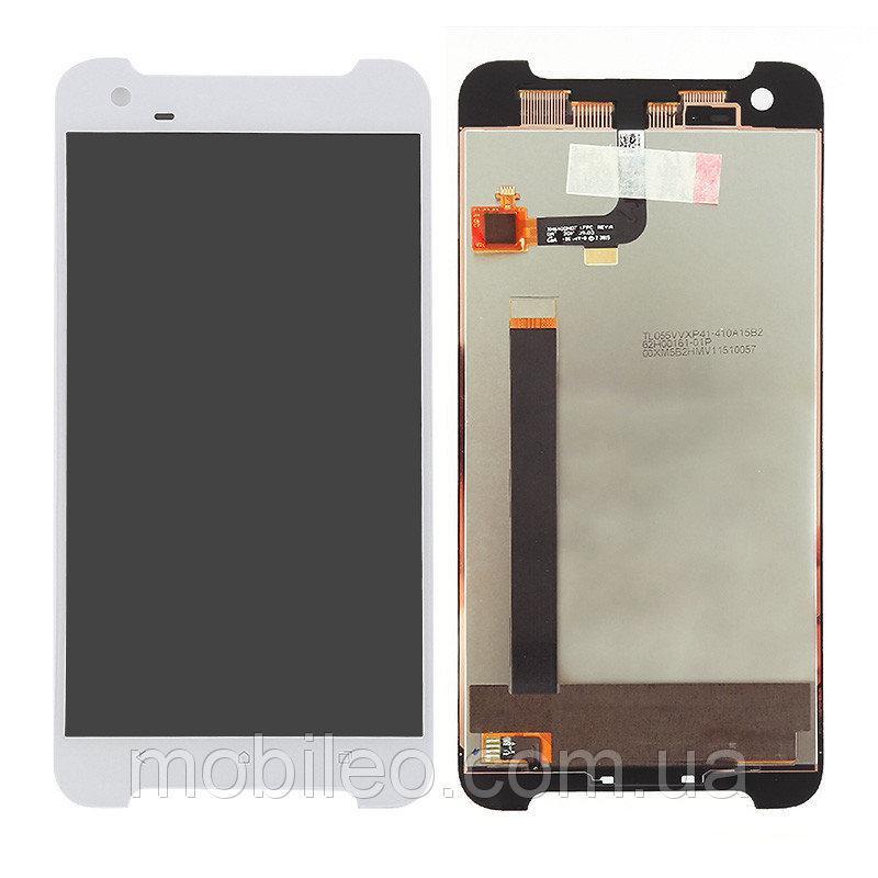 Дисплей (LCD) HTC One X9 с тачскрином, белый