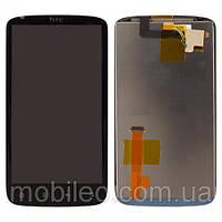 Дисплей (LCD) Htc Z710e Sensation 4G G14 с тачскрином, чёрный ориг. к-во