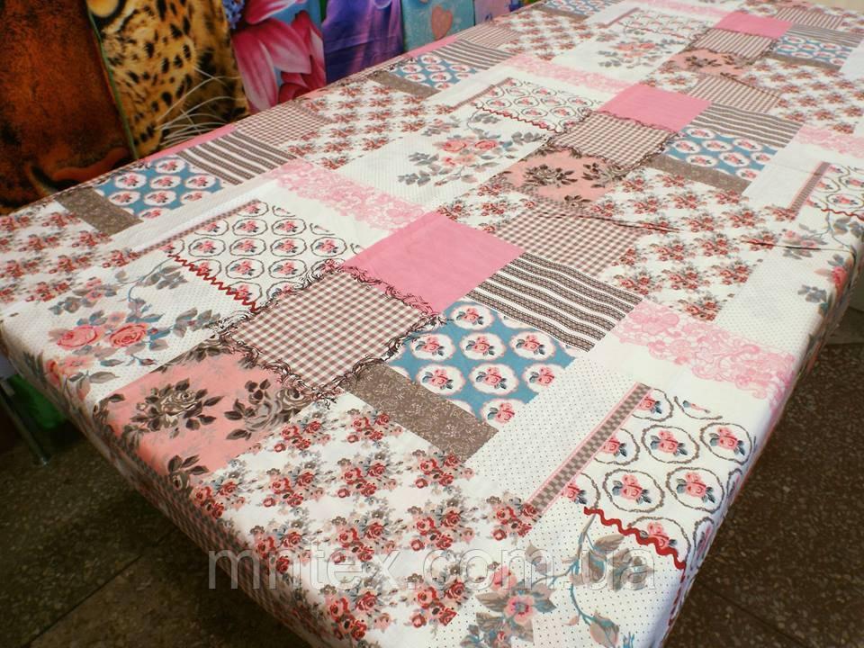 Ткань для пошива постельного белья бязь Белорусь ГОСТ Цветочная мозаика
