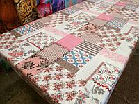 Ткань для пошива постельного белья бязь Белорусь ГОСТ Цветочная мозаика, фото 1
