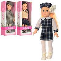 Кукла Defa Lucy 5507 мягконабивная 45 см 3 вида