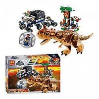 Конструктор Bela Dinosaur World Побег в гиросфере от карнотавра 10926 (Аналог LEGO) 595 деталей