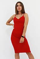 S, M, L / Облягаюче коктейльне плаття Balis, червоний
