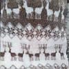 Искусственный полушерсть мех  барашек сублимация мех-олени