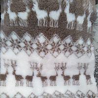Искусственный полушерсть мех  барашек сублимация мех-олени, фото 1